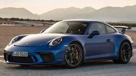 Nuova Porsche 911 GT3, i muletti in strada