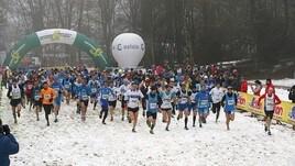 3° tappa del Cross per tutti: Neve e fango non fermano Riccardo Mugnosso e Najla Aqdeir