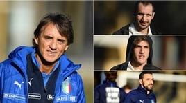 Nazionale Italiana,il primo allenamento a Coverciano