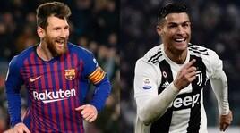 Scarpa d'Oro, che sfida tra Messi e Cristiano Ronaldo e il portoghese sale sul podio