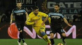 Serie A Frosinone-Lazio 0-1, il tabellino