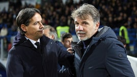 Serie A Frosinone, Baroni: «Il rigore? Preferisco non commentare»