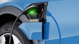 Audi e-tron, tariffe dedicate per la ricarica