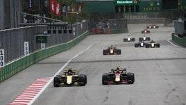 F1 Gp Azerbaigian: rinnovo accordo fino al 2023