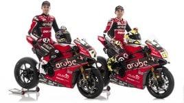 SuperBike, presentata la nuova Ducati con Davies e Bautista