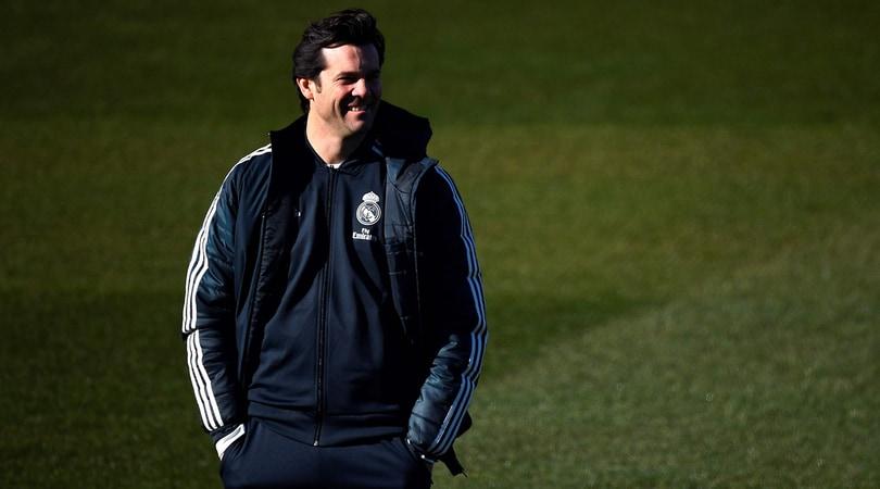 Real Madrid, Solari: Sarà divertente affrontare il Barcellona per tre volte