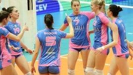 Volley: Challenge Cup Femminile, Monza passeggia con il Calcit