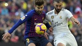 Diretta Barcellona-Real Madrid ore 21: probabili formazioni e dove vederla in tv