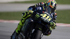 MotoGp Yamaha, Rossi: «Lavoriamo nella direzione giusta»