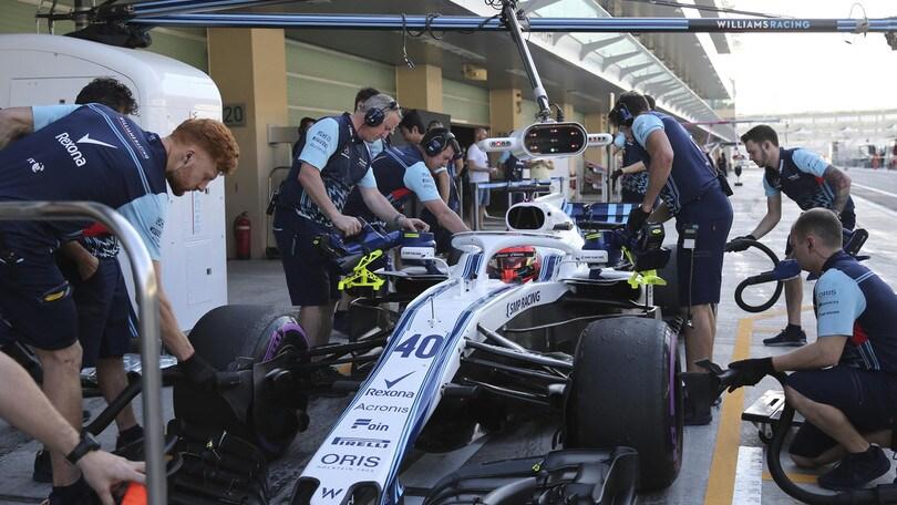 F1, nuovo nome e nuovo look per la Williams