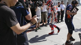 MotoGp Honda, Marquez: «Faccio ancora fatica con la spalla»