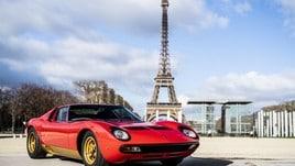Lamborghini Miura SVJ, Sant'Agata restaura quella di Todt