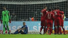 Coppa di Germania, Bayern Monaco ai quarti: 3-2 ai supplementari