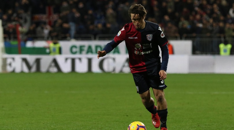 Serie A Cagliari, Pellegrini si allena in gruppo