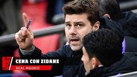 Pochettino cena con Zidane: argomento Real?
