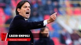 Lazio-Empoli, le probabili formazioni