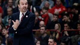 Basket, Eurolega, l'Olimpia Milano sfida Darussafaka. Pianigiani: «Gara atipica, serve un blitz»