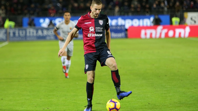 Serie A Cagliari, Bradaric si allena in gruppo