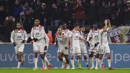 Coppa di Francia, il Lione vince a Guingamp e centra i quarti