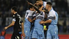 Lazio-Empoli 1-0, Caicedo su rigore. Biancocelesti al quarto posto