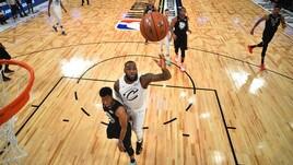 NBA All-Star Game: ecco i quintetti scelti da LeBron James e Antetokounmpo