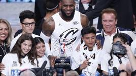NBA, ecco i quintetti base dell'All-Star Game: Team LeBron vs Team Giannis