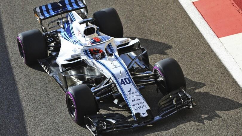F1 Williams: l'11 febbraio la nuova livrea