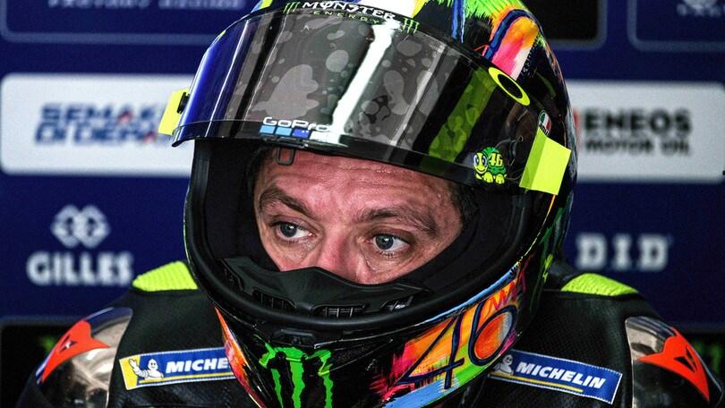 MotoGp Yamaha, Rossi: «Abbiamo ancora tanto lavoro da fare»