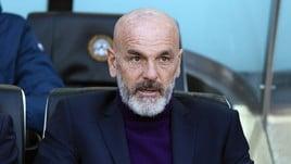 Serie A Fiorentina, Pioli: «Napoli? Vogliamo battere una big»