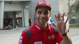 MotoGp Ducati, Petrucci: «Che soddisfazione il miglior tempo»