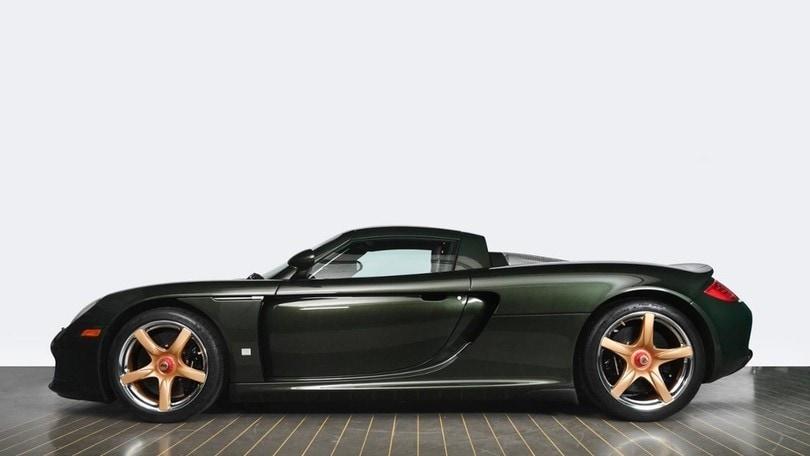 Porsche Carrera GT, restauro d'autore