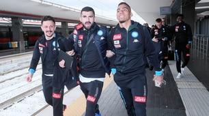 Napoli, a braccetto verso la Fiorentina