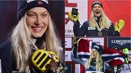 Mondiali sci 2019, Mowinckel: terzo posto ma i riflettori solo su di lei