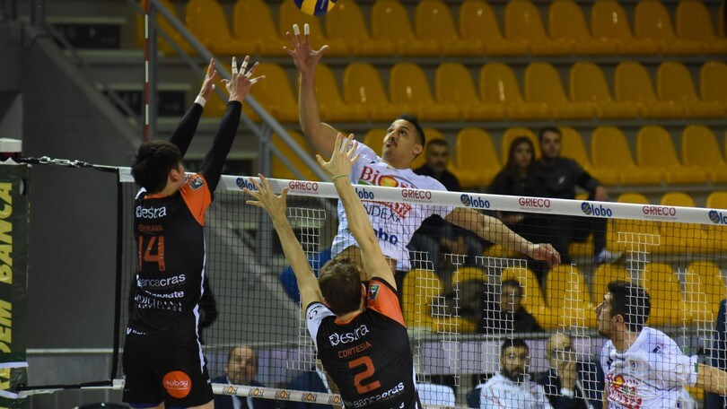 Volley: Superlega, Sora vince in volata il recupero col Siena