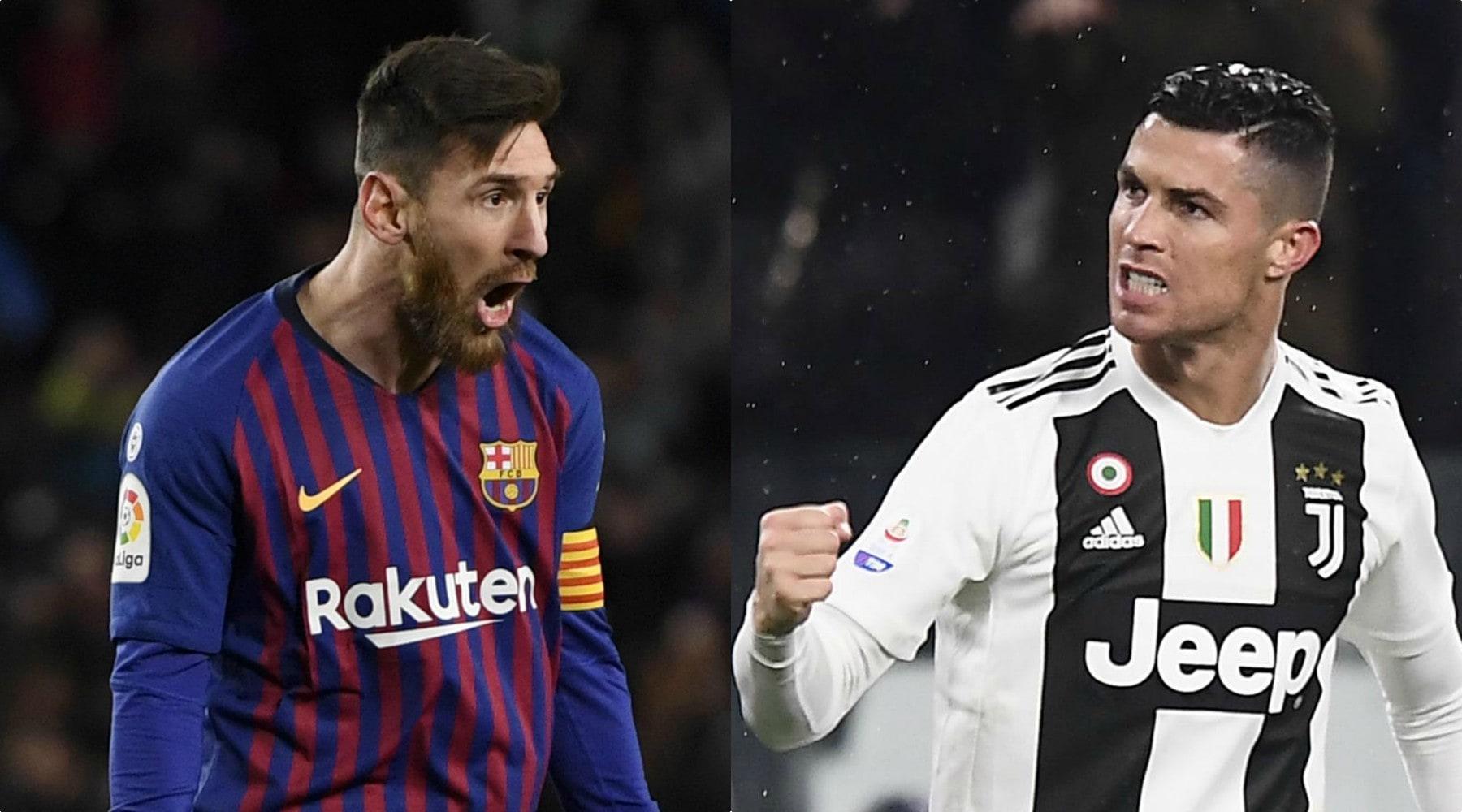 I paperoni del calcio: Messi prende 3,7 milioni al mese più di Ronaldo