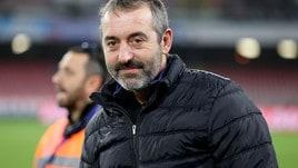 Serie A Sampdoria, Giampaolo: «Frosinone squadra in crescita, servirà pazienza»