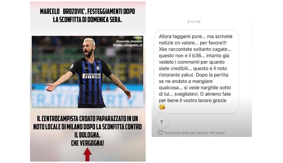 Inter, polemica social tra Brozovic e Corona: arriva l'intervento di Nainggolan