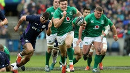Rugby Sei Nazioni, Scozia-Irlanda 13-22. Earls gela Murrayfield