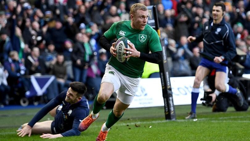 Rugby Sei Nazioni: l'Irlanda piega una coriacea Scozia con tre mete