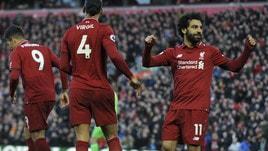 Premier League, il Liverpool ritrova vittoria e primato. Colpi esterni di Arsenal e United