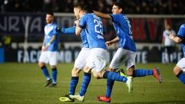 Serie B Brescia-Carpi 3-1. Corini, controsorpasso al Palermo e vetta