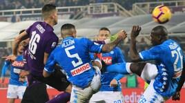 Fiorentina-Napoli 0-0: la Juventus può tornare a +11