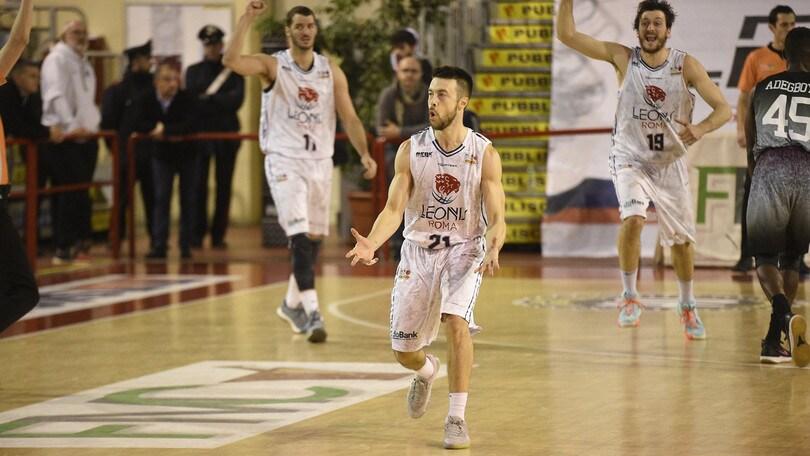 Basket Serie A2, la Leonis Roma cede al Treviglio 85-90