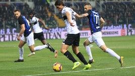 Serie A Parma-Inter 0-1, il tabellino