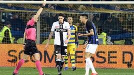 Serie A, stop di tre turni per Aina
