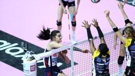 Volley: A1 Femminile, il derby lo vince Bergamo