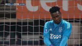 Imbarazzante papera di Onana, e l'Ajax perde...