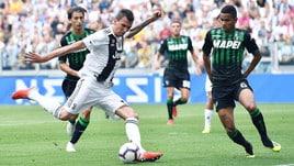 Diretta Sassuolo-Juventus ore 18: dove vederla in tv e formazioni ufficiali