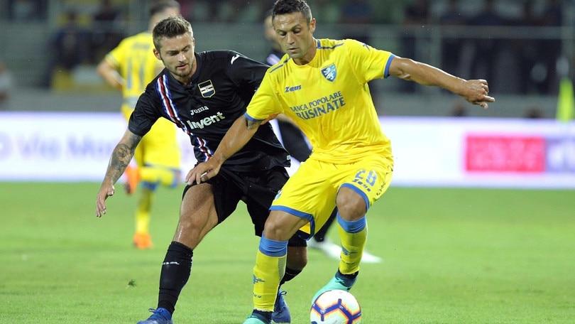 Diretta Sampdoria-Frosinone ore 15: formazioni ufficiali e dove vederla in tv