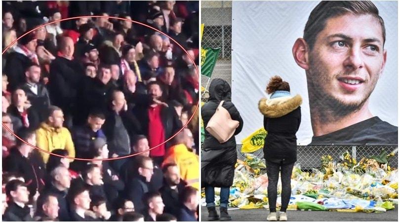 Offesa la memoria di Sala: mimano l'aereo, arrestati due tifosi del Southampton